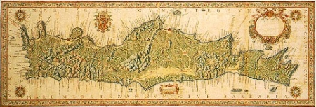 "Kingdom of Crete"" – painting by Francesco Basilicata"